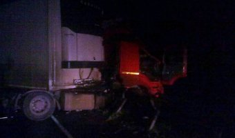 В массовом ДТП под Тулой пострадали два человека