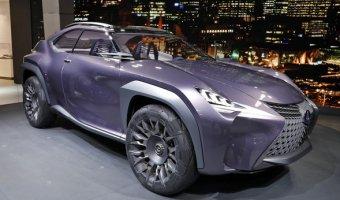 Goodyear с гордостью представляет концептуальные шины Goodyear Urban CrossOver для нового кроссовера Lexus UX
