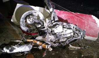 Под Новороссийском мотоциклист насмерть разбился о бетонное ограждение