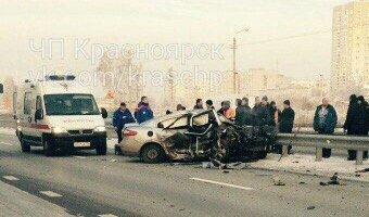 В ДТП под Сосновоборском погиб водитель иномарки, ехавший по «встречке»