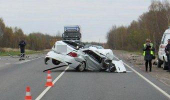 В ДТП в Ржевской области погиб человек