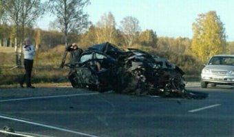 Семь человек погибли в страшном ДТП в Кемеровской области
