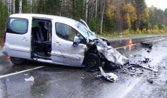 В ДТП под Первоуральском погибли два человека