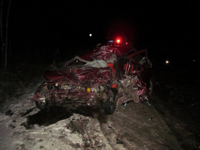 В ДТП в Меленковском районе погибла молодая женщина-водитель (1)