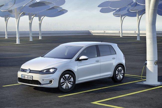 Volkswagen представит обновленный e-Golf в Лос-Анджелесе  (1)