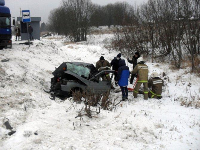 В ДТП в Первомайском районе погибли два человека (2)