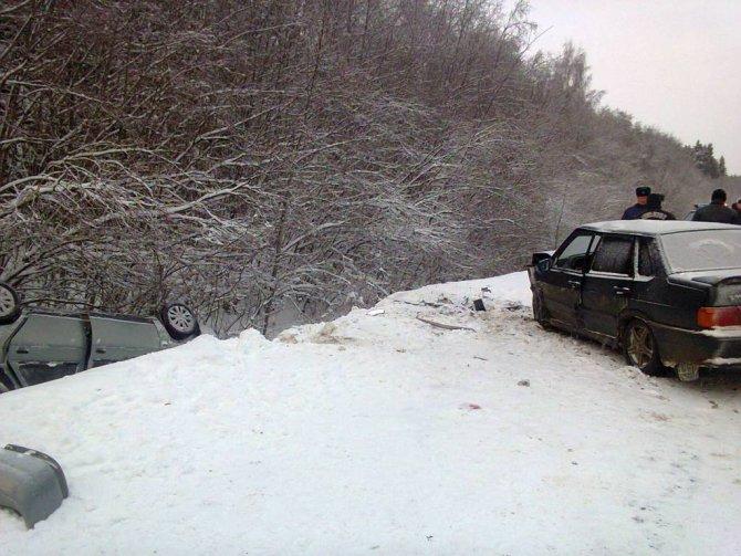 В ДТП в Шекснинском районе погибла женщина (5)