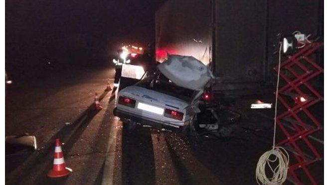 В ДТП с фурой в Выселковском районе погибла молодая пассажирка ВАЗа (1).jpg