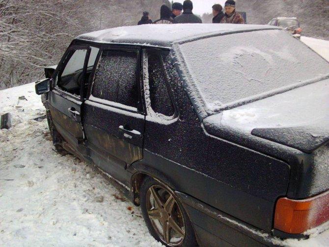 В ДТП в Шекснинском районе погибла женщина (4)