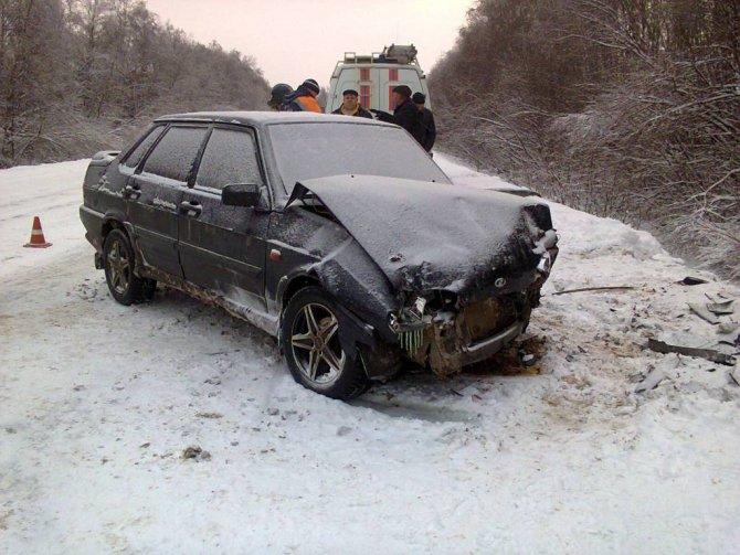В ДТП в Шекснинском районе погибла женщина (3)