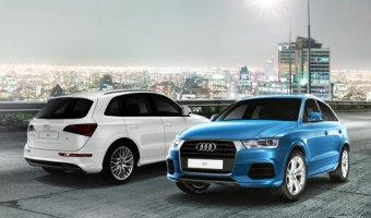 Audi с полным приводом quattro покоряют стихию