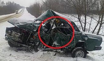 В Прикамье в тройном ДТП погиб молодой мужчина