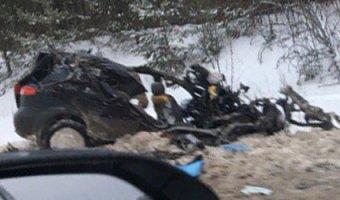 В ДТП с грузовиком в Пермском крае погибли три человека