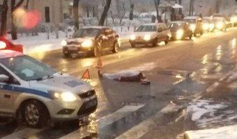 В Пушкине автобус насмерть сбил женщину