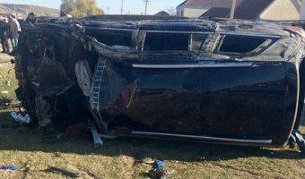 В крупном ДТП в КБР погибли шесть человек