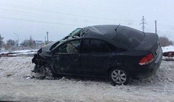 В Сургуте полицейский спровоцировал ДТП с двумя пострадавшими