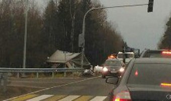 В ДТП с фурой под Тосно погибли два человека