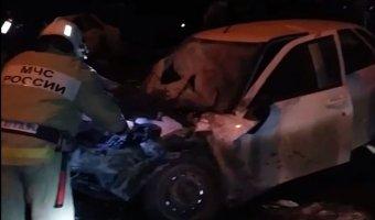 В Чечне в пьяном ДТП погибли восемь человек