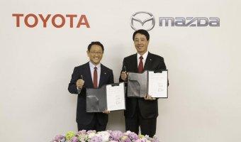Toyota и Mazda выпустят совместные автомобили