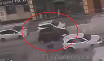 В Красноярске на улице Карла Маркса сбили женщину