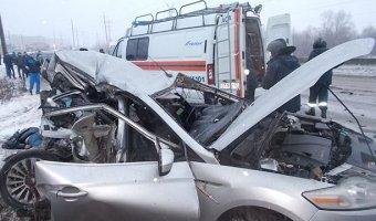 В Арзамасе в ДТП с автобусом погибли два человека