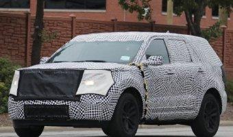 Новое поколение Ford Explorer замечен на тестах