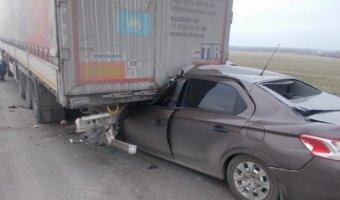 В ДТП в Ростовской области погибли два человека