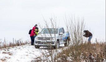 Заряжен для бездорожья: Volkswagen Amarok прошел off-road-тест-драйв