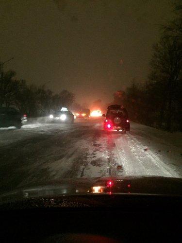 В ночном ДТП на Московском шоссе погиб водитель легковушки (4)