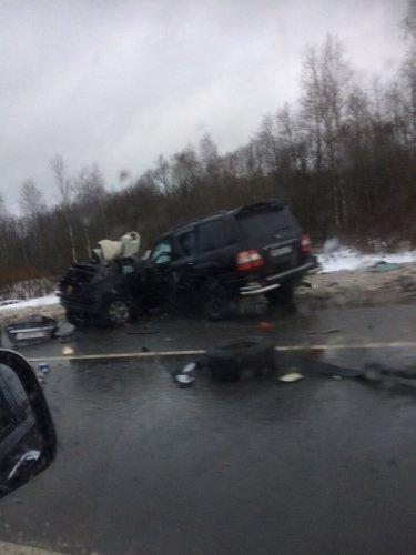 В ДТП под Тосно погибли два человека (2)