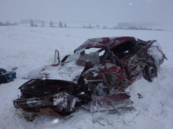 Три человека погибли в ДТП с «Газелью» в Удмуртии (2)
