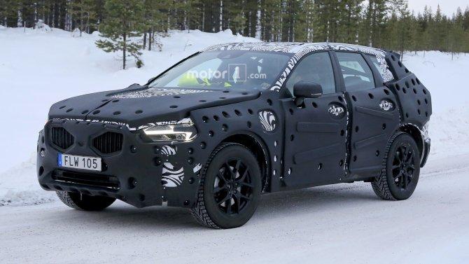 В Сети появились фото нового Volvo XC60 (5)
