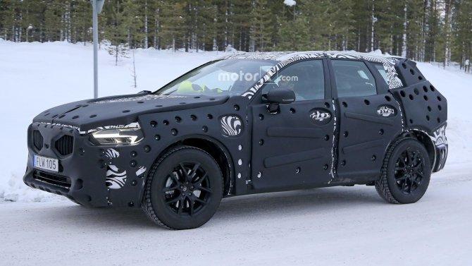 В Сети появились фото нового Volvo XC60 (6)