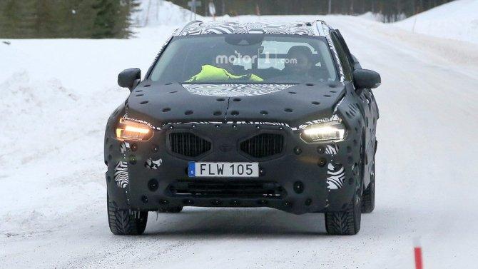 В Сети появились фото нового Volvo XC60 (1)