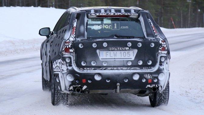 В Сети появились фото нового Volvo XC60 (2)
