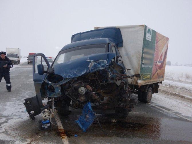Три человека погибли в ДТП с «Газелью» в Удмуртии (1)