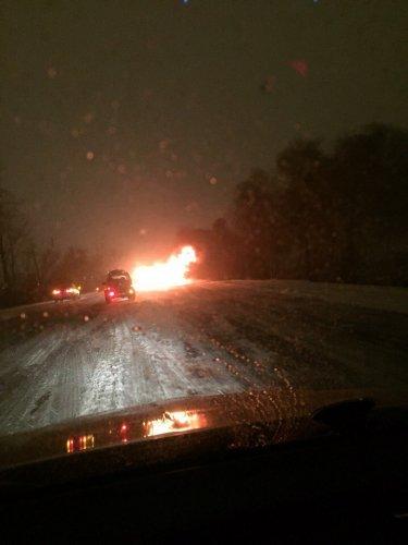 В ночном ДТП на Московском шоссе погиб водитель легковушки (3)