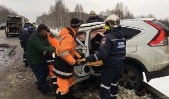 В ДТП под Серпуховом погиб человек