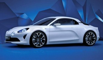 Начался прием предзаказов на Renault Alpine