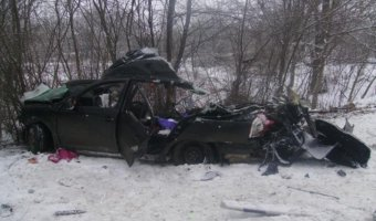 В ДТП в Северной Осетии погибла семья из трех человек