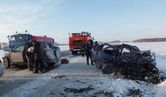 В лобовом ДТП в курганской области погиб годовалый ребенок