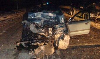 В Сосновском районе в лобовом ДТП погибла женщина-водитель