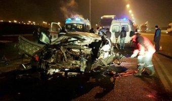 В Крымском районе в ДТП с бензовозом погиб молодой водитель иномарки