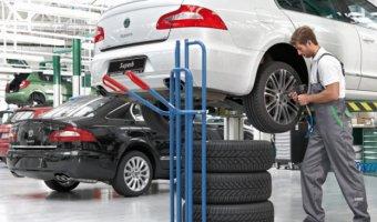 Выгода на шиномонтаж автомобилей SKODA для опоздавших!