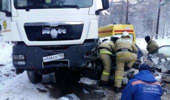 В ДТП на Байкальском тракте погиб водитель иномарки