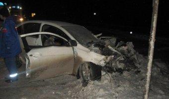 В Ишиме в ДТП погибла пассажирка иномарки