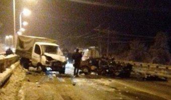 На Кубани в ДТП на снежной дороге погибли мужчина и 3-летний ребенок