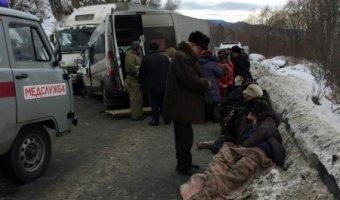 В ДТП с маршруткой и фурой в Слюдянском районе погибли два человека