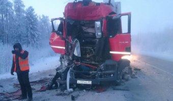 На тюменской трассе в ДТП погиб водитель фуры
