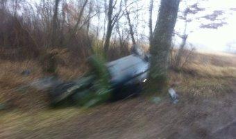 В ДТП в Гурьевском районе погиб пассажир «Мерседеса»